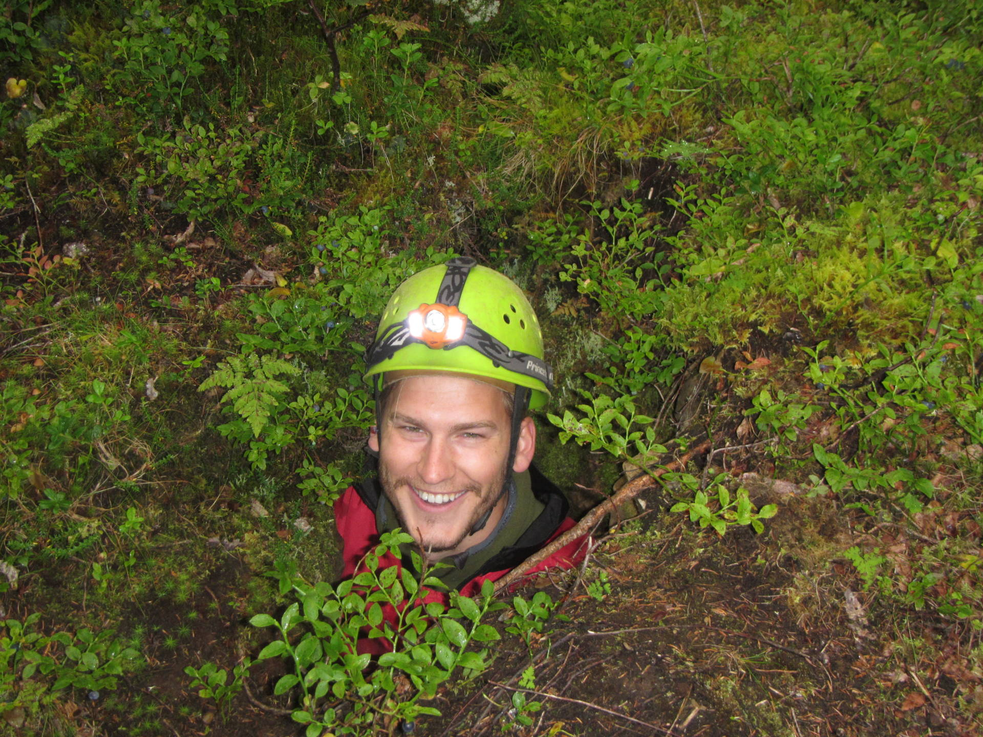 Cave tour to Kvarnbäckslabyrinten, Åre