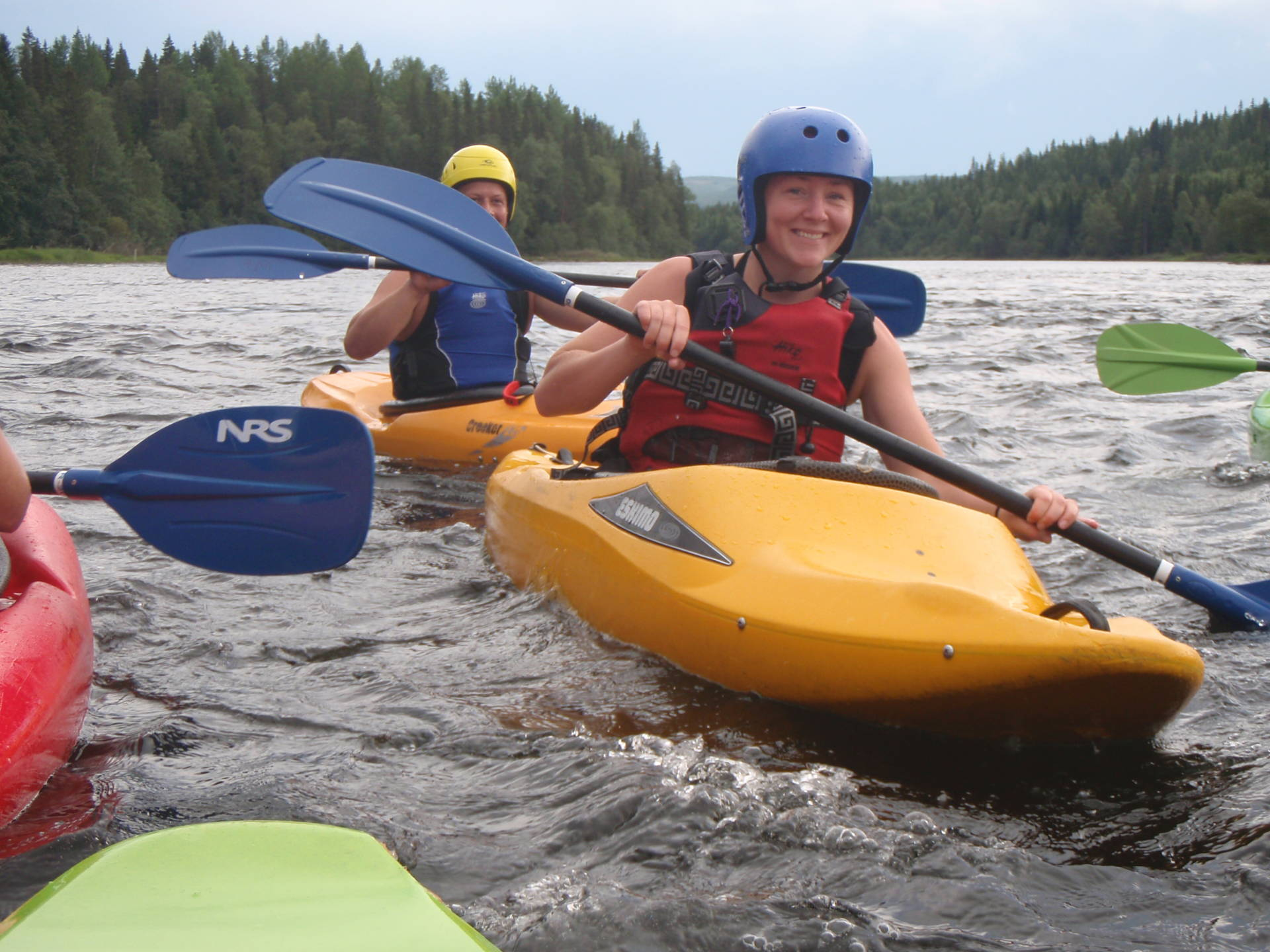 White water kayak – one day