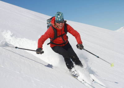 Ski touring / rondoné tour in Snasahögarna