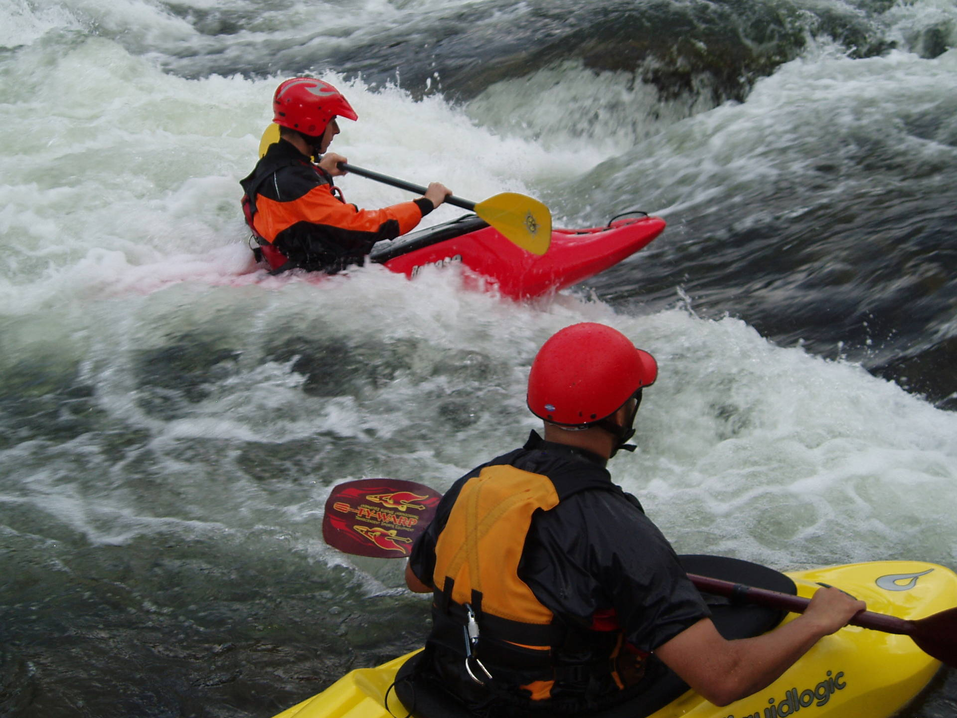 White Water Kayak In Are Sweden Photo Jonas Persson
